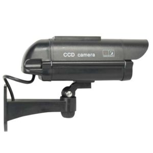 solar dummy camera mounted side view