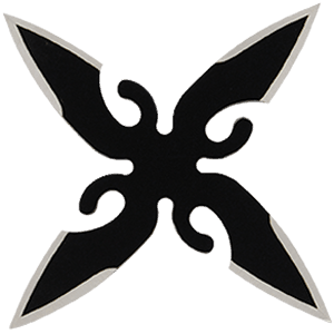 four bladed throwing star